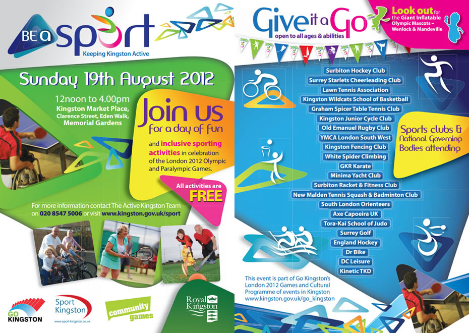 2012 Archive: Be A Sport - Free Judo & Other Activities In Kingston