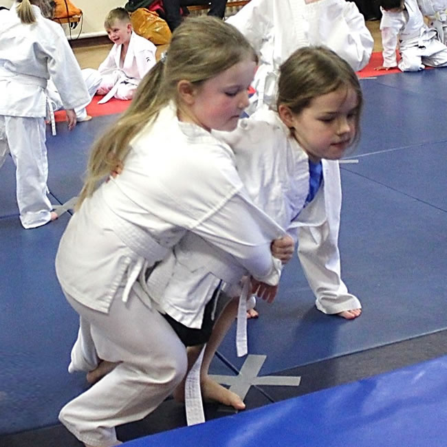 Children in Judo Class - Boys and Girls - Tora Kai Judo Club