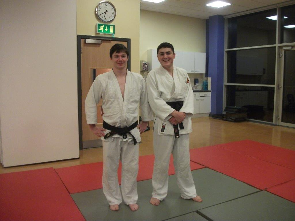Blake Edwards - Black Belt Award at Elmbridge Xcel Sports Centre Walton on Thames