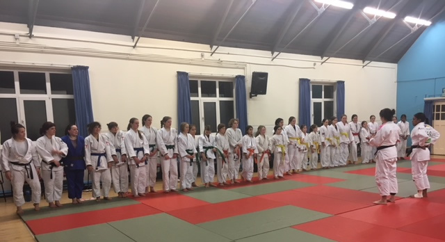 Girls Judo - Photo of Nekoda Davis Judo Masterclass in Surrey