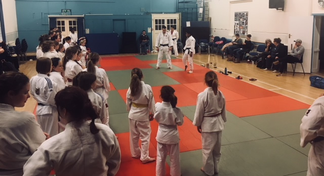 Girls Judo - Photo of Nekoda Davis Judo Masterclass