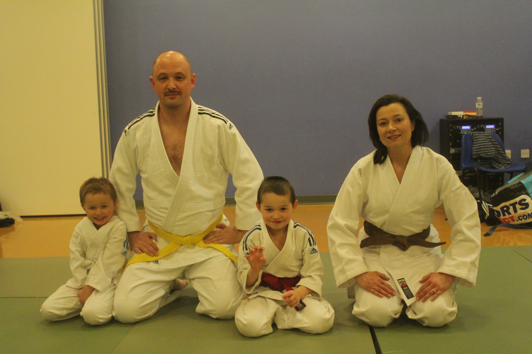 Judo Family Fun - Open Day at 1st Laleham Scout Group Brownsea Hall Laleham