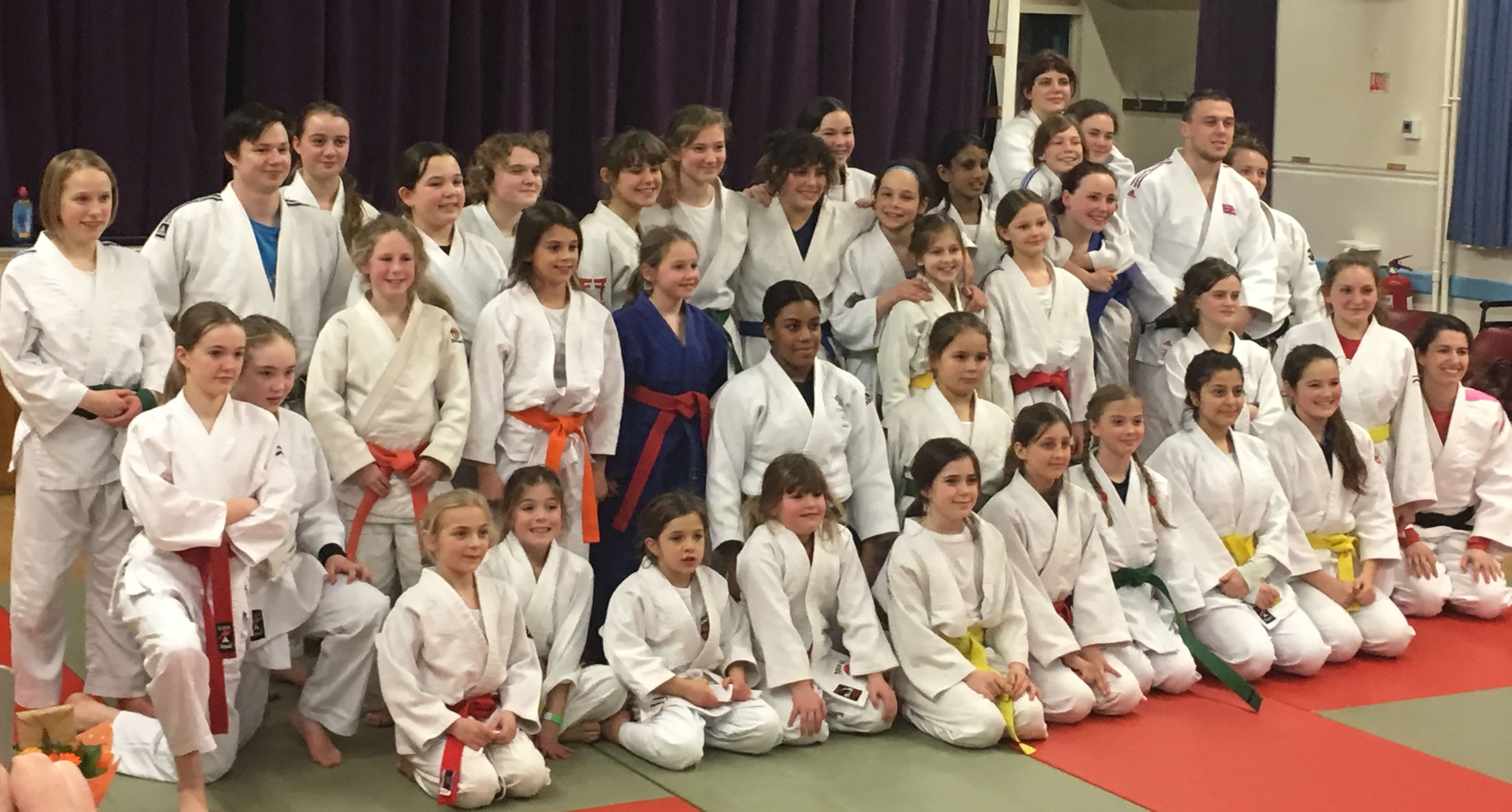 Photos From Nekoda Davis Judo Masterclass