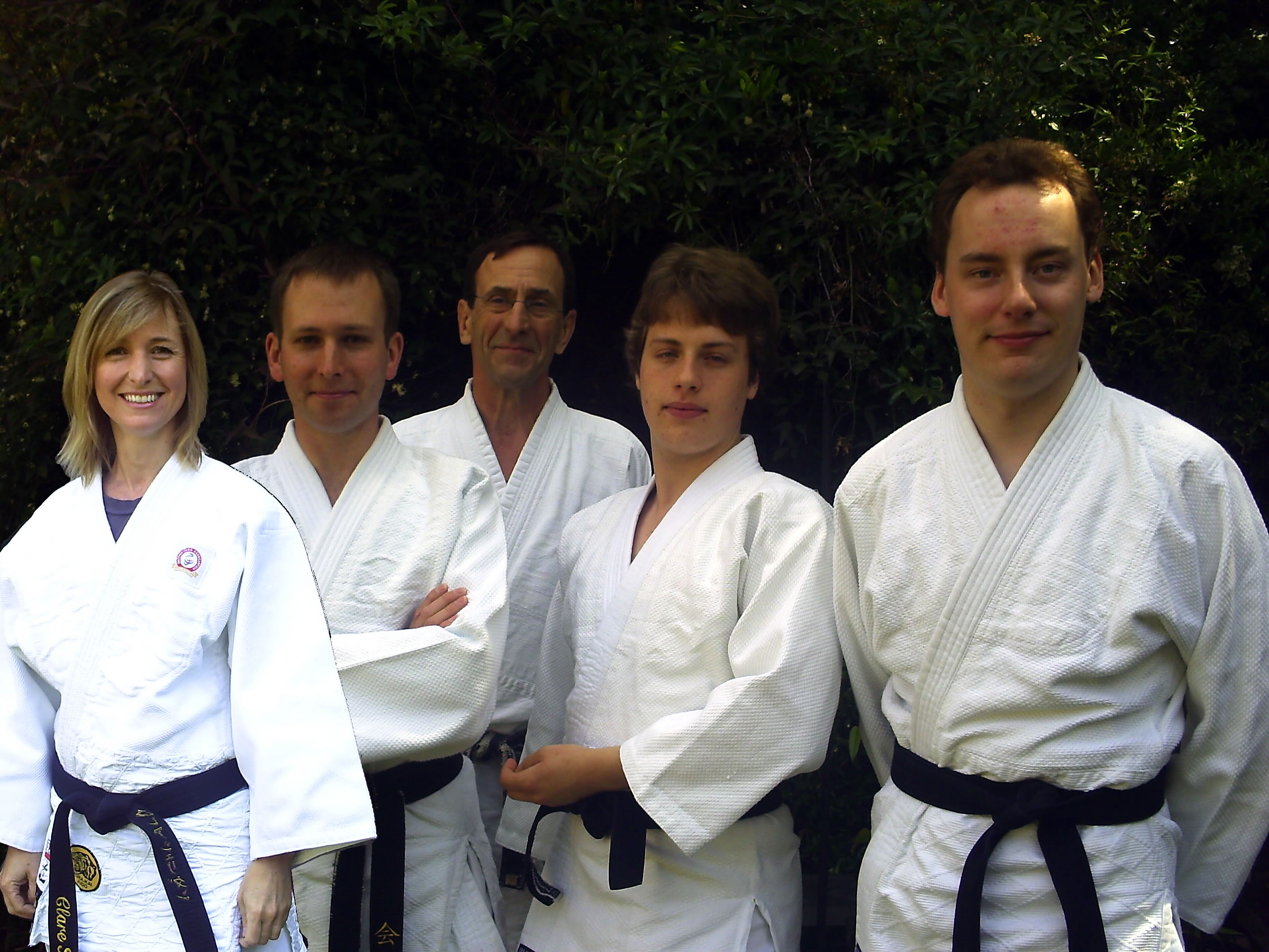 Judo Coaches for 2010 Surrey Youth Games