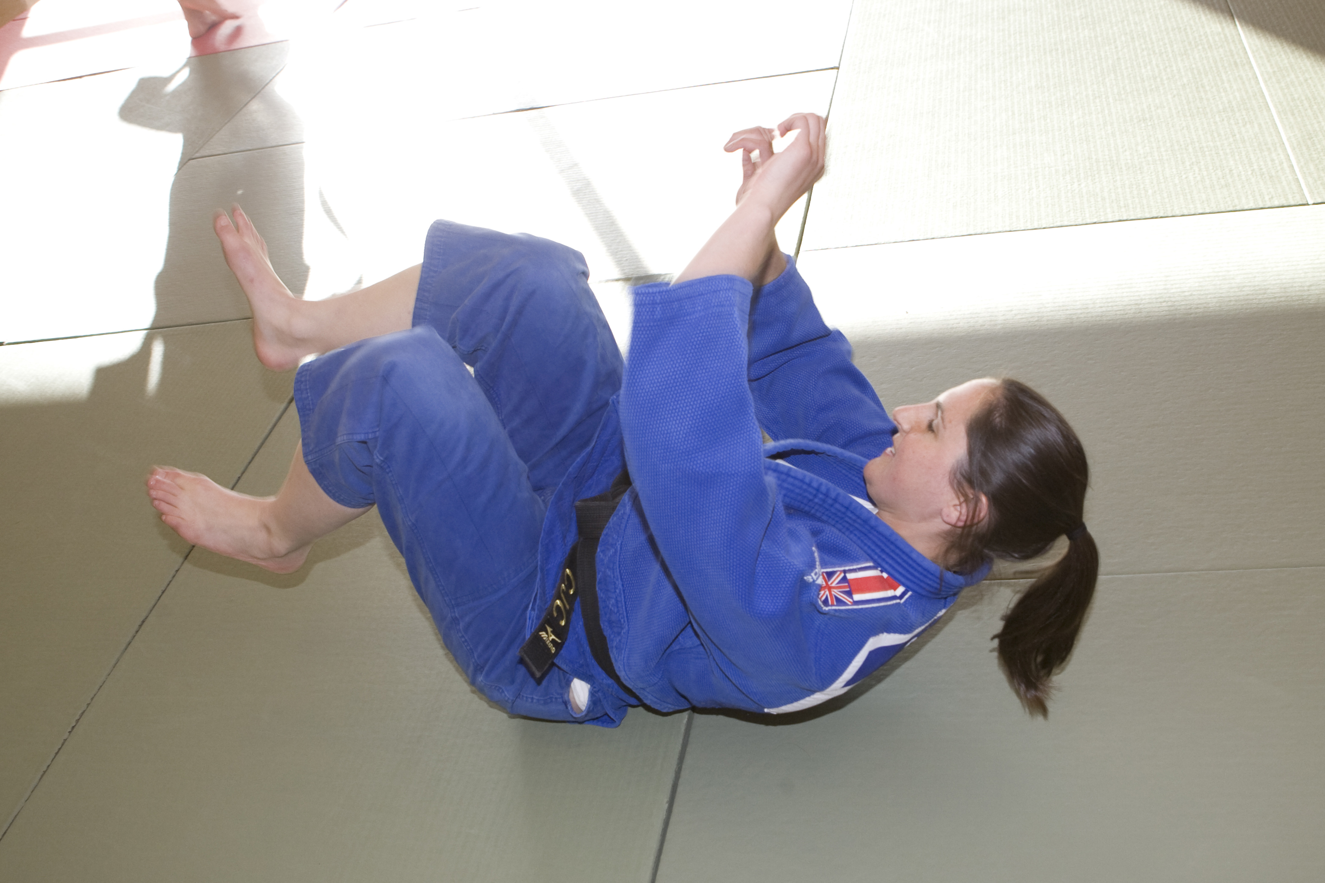 Samantha Lowe Judo Team GB  for 2012 Olympics