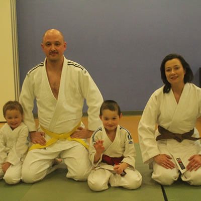 Family Judo at Laleham Middlesex