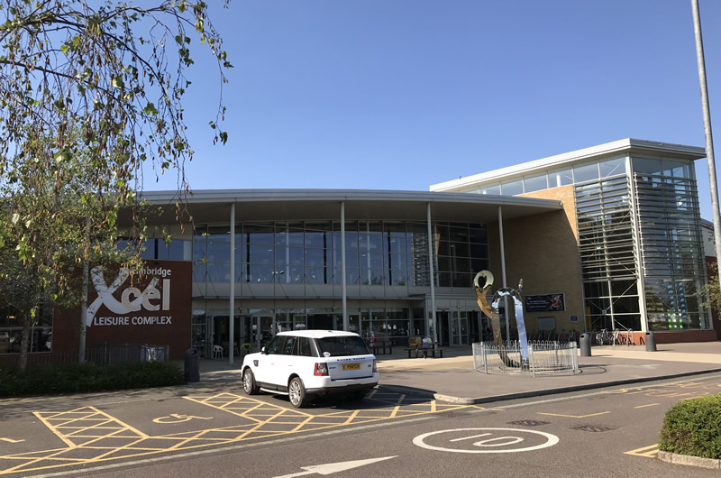 Xcel Leisure Centre Walton Surrey operated by Places for People Leisure Group