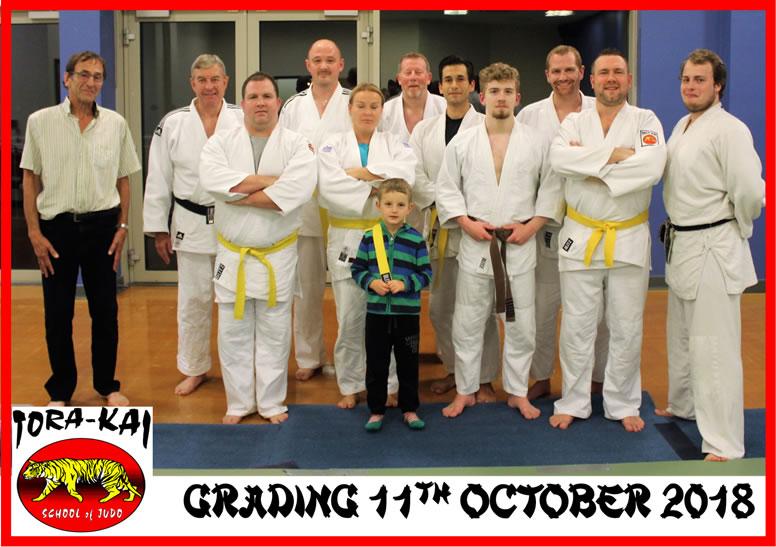 Judo Grading Photo -  Tora-Kai School Of Judo
