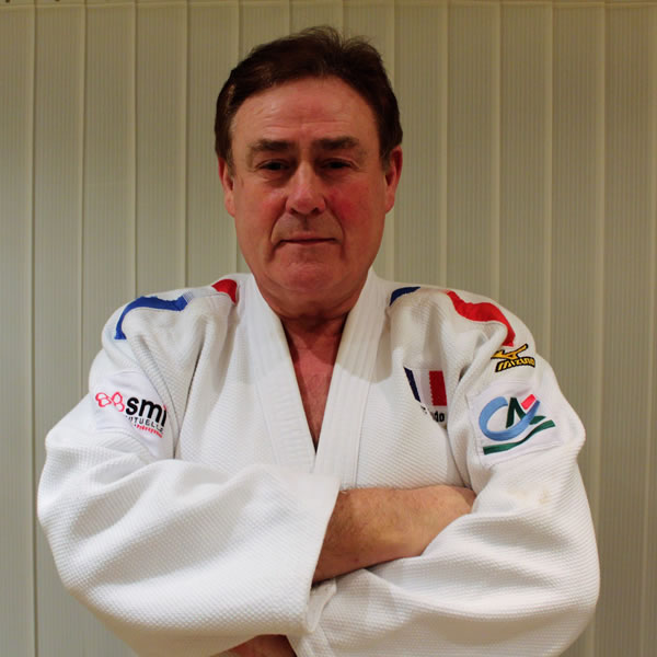 Surrey and London Judo Coach Jean-claude Le Boudec