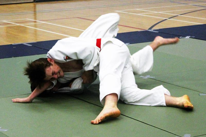 Boys competing in Judo Club Championships at Walton - Elmbridge Xcel