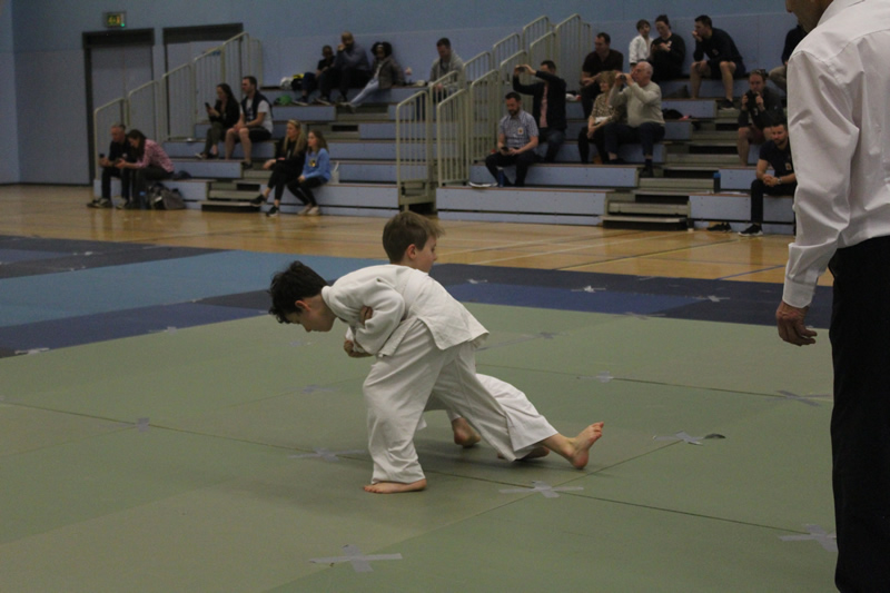 Boys in Judo Club Championships at Walton - Elmbridge Xcel