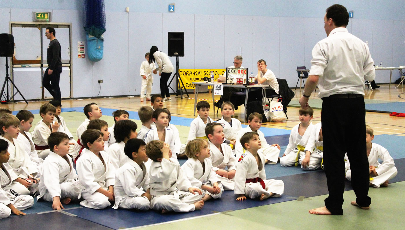Walton Judo Tournament - Elmbridge Xcel Leisure Centre