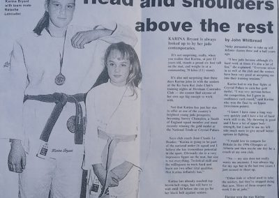 Karina Bryant London Olympic Judo Medalist learning Judo when young
