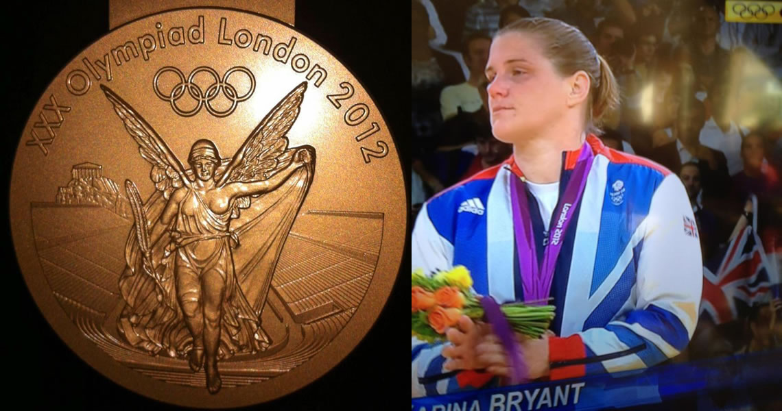 Karina Bryant Winning Judo Olympic Bronze Medal - Was coached by Tora-Kai Coach Jean-claude at age 9