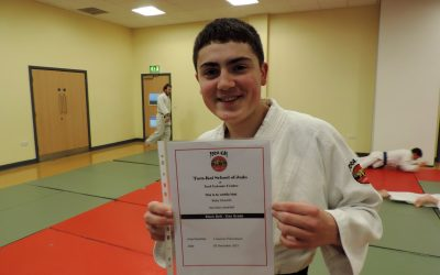 Congratulations To Blake Edwards – Awarded Judo Black Belt