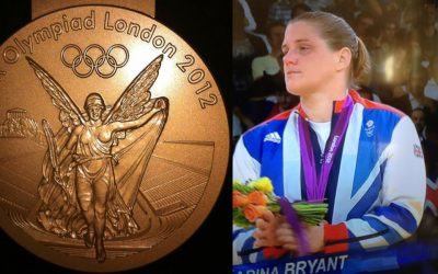 Olympic Bronze Medal Winner Karina Bryant started learning Judo aged 9 with Tora-Kai Coach Jean-claude. Never stop dreaming & believing!